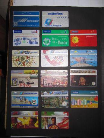 cartões de telefone
