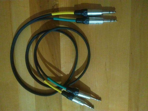 """1.5м Балансный стерео кабель mogami w3106 Neutrik NP3C TRS 6.3 мм 1/4"""""""