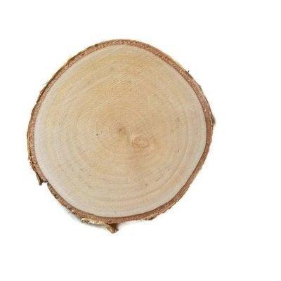 Plastry drewna Brzozowe szlifowane 10 - 12 cm flek
