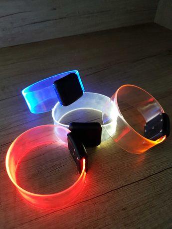 Детская игрушка неоновый отражающий светодиодный защитный браслет ДРОП