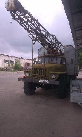 Буровой станок скб-41 на Урал-4320, дизель