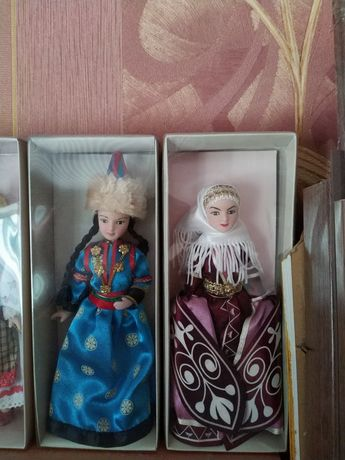 Куклы в народных костюмах ДеАгостини 10 штук