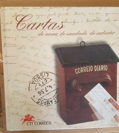 """Livro de coleção CTT """"Cartas de amor, de saudade, de sedução"""""""
