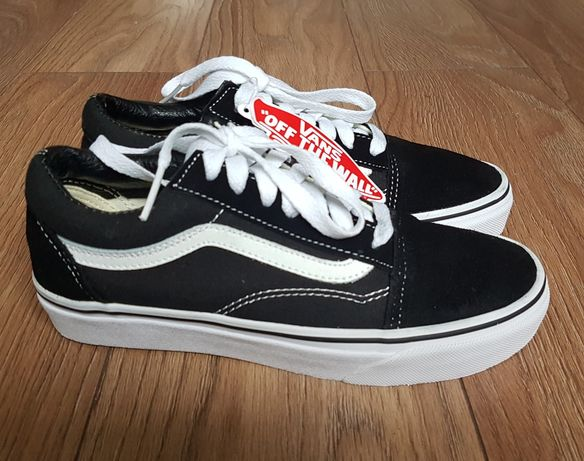 Buty Vans Old Skool Black rozmiar 38 okazja nowe