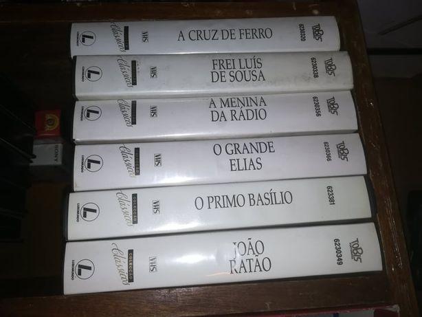 Coleção de Filmes Clássicos Portugueses-VHS