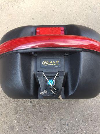 Кофр, багажник на один шлем