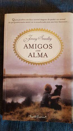 """Livro """"Amigos com Alma"""" de Jenny Smedley"""