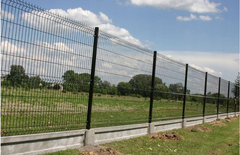 Kompletne ogrodzenie panelowe 4mm 173 oc+ral deska 20cm Euromet Sosnowiec - image 1