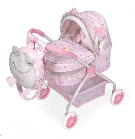 Хорошая Классическая коляска для кукол с рюкзаком Подарок на Новый год