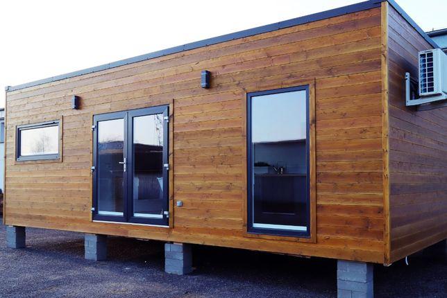 Dom Domek mobilny modułowy 35 m² letniskowy całoroczny bez pozwolenia