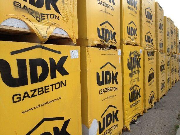 Газобетон UDK ЮДК, лучшая цена! Доставка,выгрузка. Оплата по факту!
