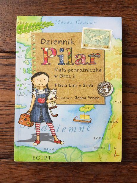 Dziennik Pilar mała podróżniczka w Grecji jak nowe