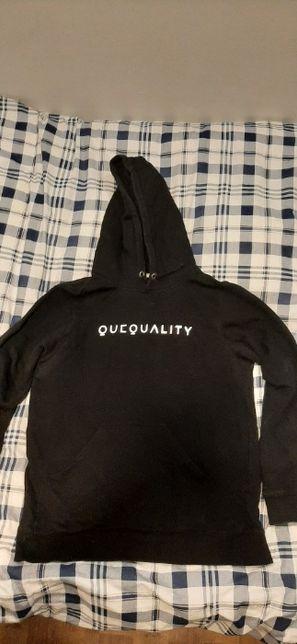 Bluza Quequality 1 drop + czapka z maską anty-smogową