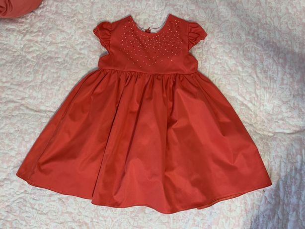 Нарядное платье, размер до 5 лет