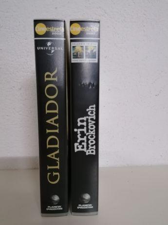 2 Cassetes VHS filmes