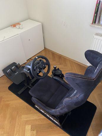 Playseat WRC + kierownica Logitech g920