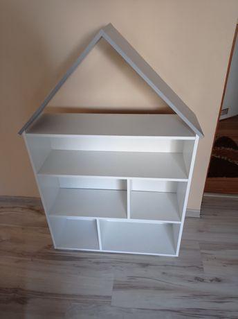 Półka- domek  biały