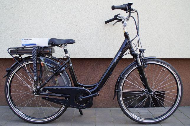 Rower elektryczny koło 28 piasta 7 biegowa silnik centralny Blaupunkt