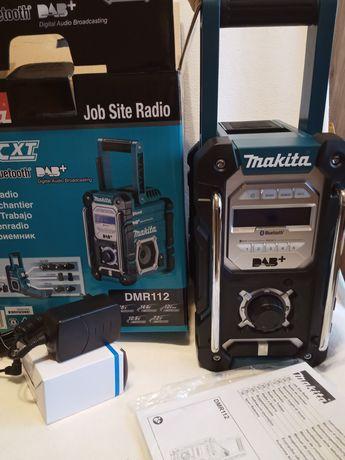 Radio Makita DMR 112 bluetooth model 2020 zasilacz w zestawie