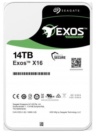 "Seagate Exos X16 14TB SATA 6Gb/s 3.5"" Enterprise HDD (S"