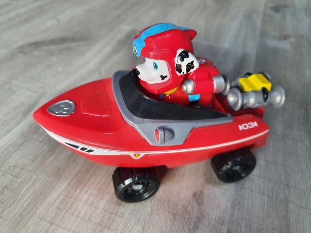 Psi Patrol Marshall Sea motorówka łódka figurka