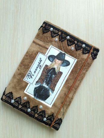 Обложка на паспорт (подарок на 8 марта, день рождения)