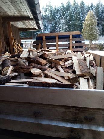 Drewno opałowe miękkie krótko pocięte