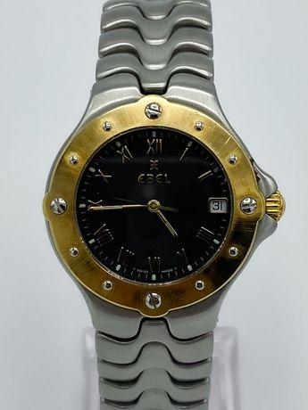 Relógio Ebel Sportwave Aço e Ouro