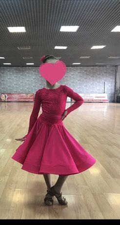 Рейтинговое платье бейсик из ткани CHRISANNE-CLOVER и DSI London 6-7л+
