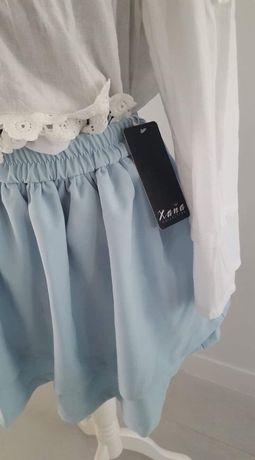 Nowa spódniczka niebieska rozmiar uniwersalny