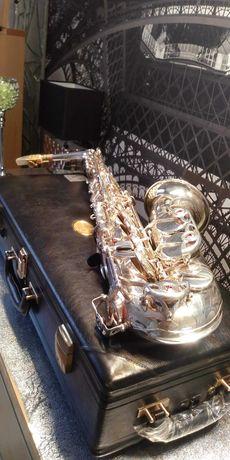 Sprzedam saksofon ALT YAMAHA YAS 875 EX posrebrzany stan jak nowy