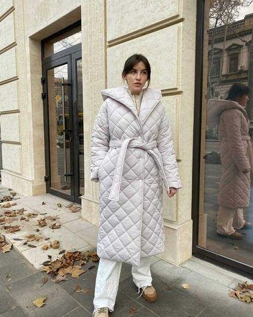 Пальто женское стеганое