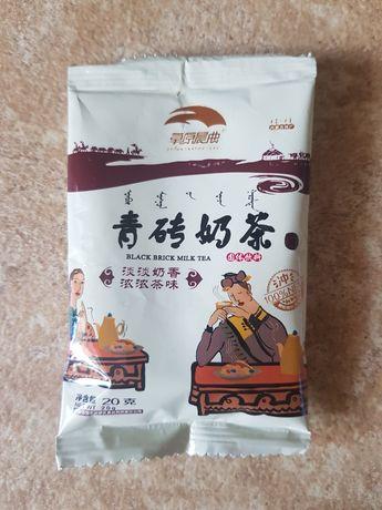 Чёрный молочный чай с солью из Китая