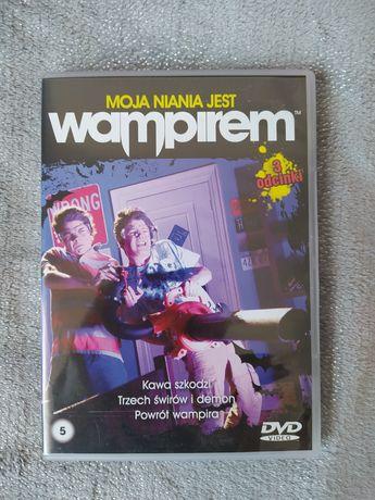 """Płyta DVD """"Moja niania jest wampirem"""" 3 odcinki"""