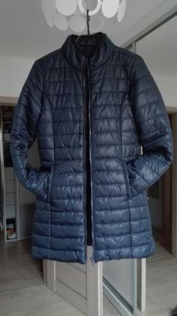 Nowa granatowa pikowana kurtka roz xs