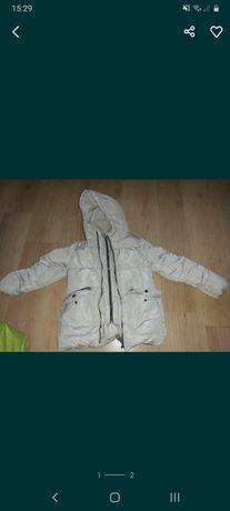 Kurtka zimowa Zara dla dziewczynki rozm 140