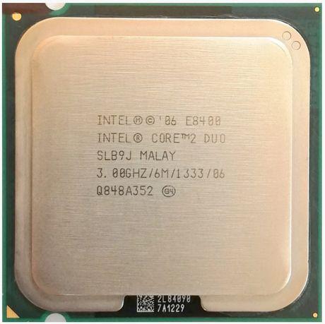 Процессор Intel Core 2 Duo E8400 3.0GHz/6MB/1333MHz s775