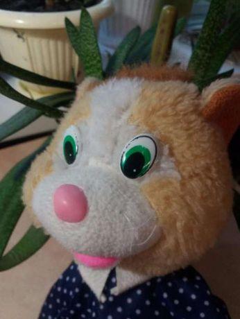 мягкая игрушка: кот Коксик, Енот Енотыч и Волк