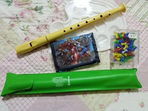 Flauta Hohner e carteira Fantásticos