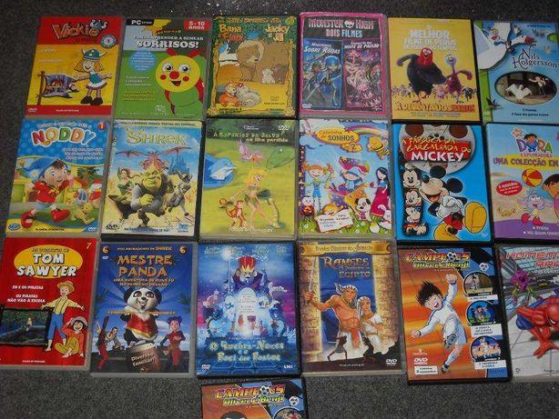 18 DVD de Banda desenhada Originais