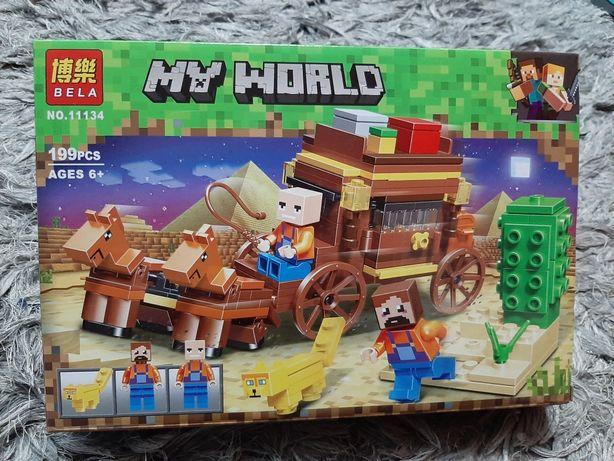 My World jak Lego 199 elementów kompatybilne z Lego