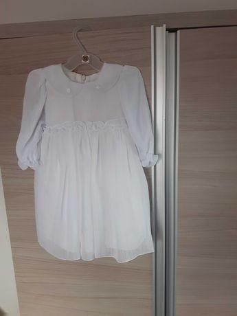 Sukienka do chrztu 74 + buciki