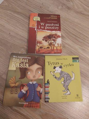 Książki lektury szkolne