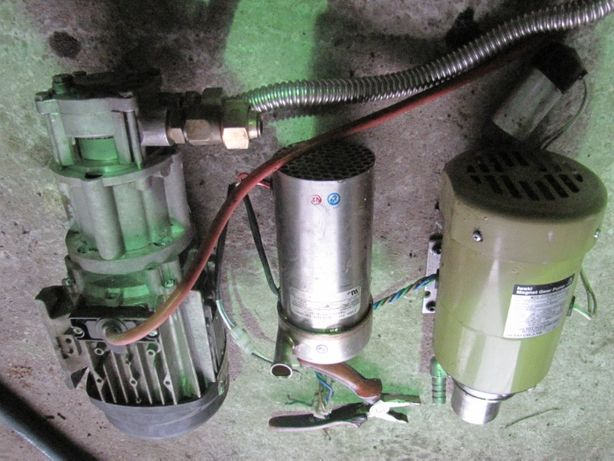 Pompa wody paliwa oleju 230V duża wydajność
