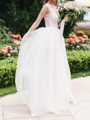 Свадебное платье в стиле Berta