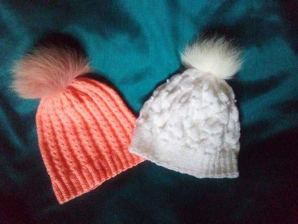 Вязаные шапки, сделано с любовью