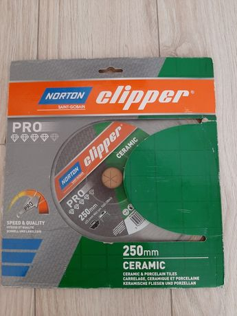 Tarcza Norton Clipper PRO CERAMIC 250 mm NOWA