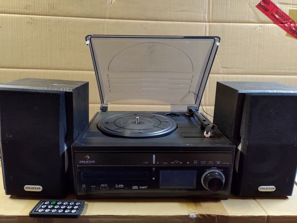 Auna  DS-2 Wieża stereo  Gramofon