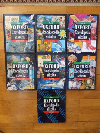 Encyklopedia Szkolna OXFORD komplet 7 tomów 1992-95r.
