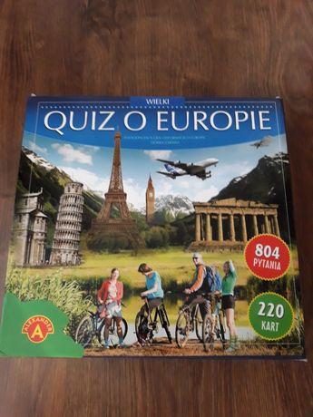 Gra planszowa Quiz  o Europie